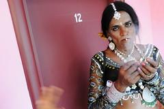 Transvestite (Leonid Plotkin) Tags: india asia transgender transvestite crossdresser tamilnadu transsexual mela hijra villupuram aravani aravan koovagam