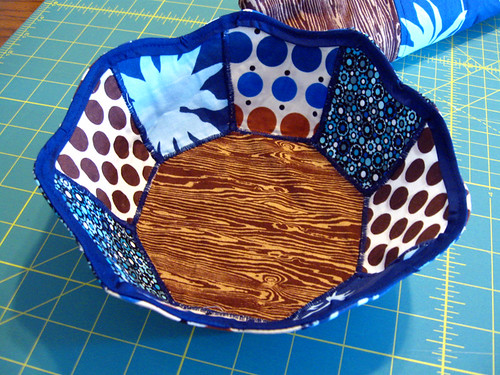 Bowl from Sew Happy Patchwork
