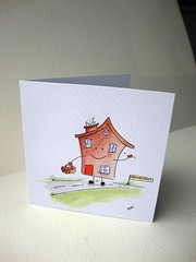 Retirement / moving house card