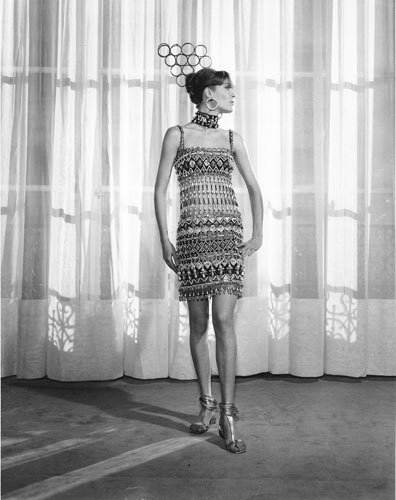 first to create african inspired garments 1967