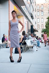 Summer Night Runway - Aquasia Davis (willstotler) Tags: show leica philadelphia fashion 35mm bell modeling pennsylvania models summicron management m8 effect runway ea asph leicam8 summicron35mmasph willstotler eaeffect bellmanagement