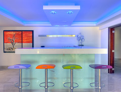The Colourful Bar (THE VILLA GROUP) Tags: lighting bar photoshop nikon interior villa dxo barstools hdr nikond3s
