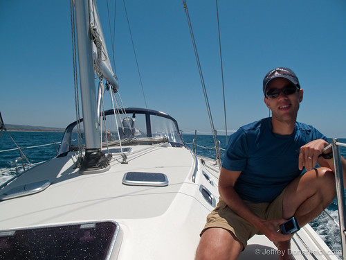 Provisioned the boat, a Catalina 36 mkII, prepared the boat for departure ...