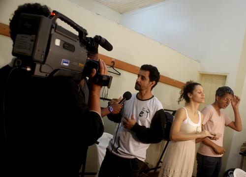 TVPE na cobertura do FIG 2011. Mostramos shows, teatro, cinema, e muito mais| Foto: Xirumba.