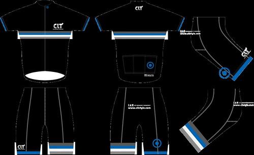 CLT CYCLEJERSEY(BLK)