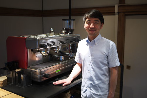 Kunitomo -san of Omotesando Koffee by Rollofunk