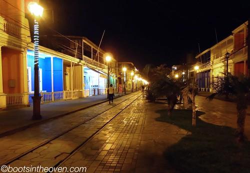 Iquique's wooden sidewalks