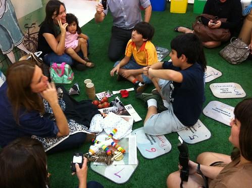 Visita do @verparacrescer na #CasaSustentavel do @shopeldorado