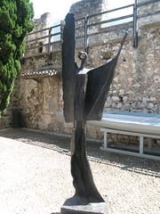 Giudizio universale, 1967, Lake Garda, Malcesine, Scaligeri Castle (redrichie) Tags: italy holiday castle statue malcesine lakegarda lagodigarda giudiziouniversale scaligeri