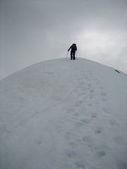 Approaching Dome's summit