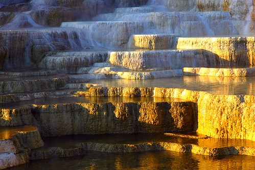 IMG_8321 Travertine Terraces, Yellowstone National Park by ThorsHammer94539