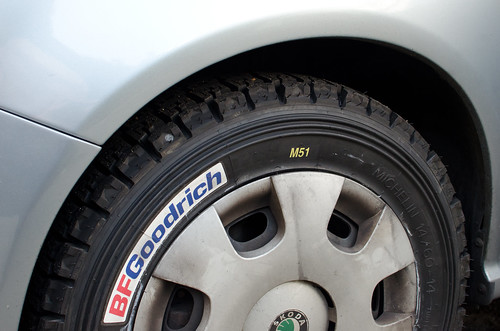 We got some new tyres for the car - these look significantly more safe than the last lot. They also make a loud humming noise on the motorway, which I'm sure won't be annoying at all.