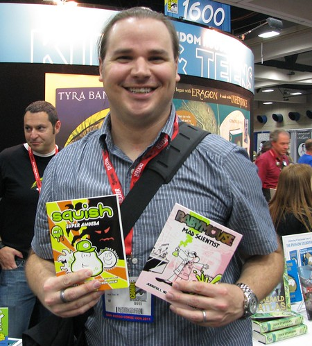 Matt Holm, illustrator of Squish and Babymouse