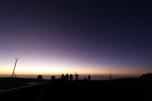 夕日のグラデーション