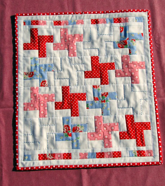 front of gifted doll's quilt