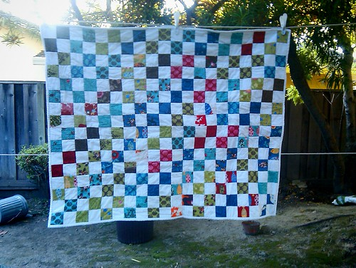 Odyssea quilt front