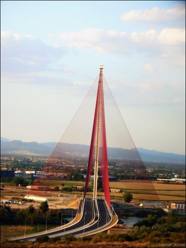 Puente atirantado Talavera de la Reina by Marcos_Rivas