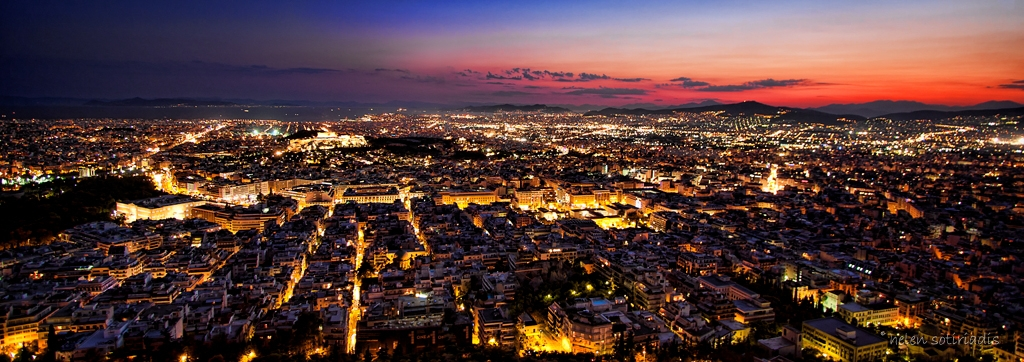athens by twilight