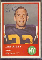 1963 Fleer - 19 - Lee Riley