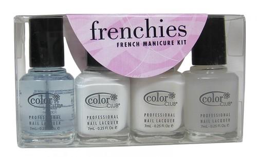 Color Club Frenchies Mani Kit (mni set of 4)