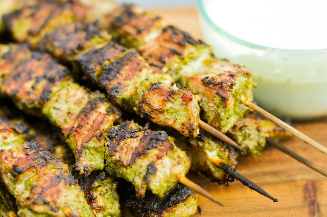 Jerk Pork Skewers