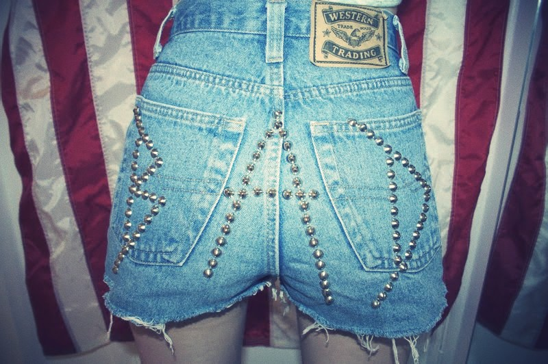 Badlands studded denim shorts.jpg_effected