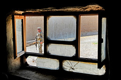 Home security (The U.S. Army) Tags: afghanistan river army village af airforce elders patrol zabulprovince arghandab foblane prtzabul