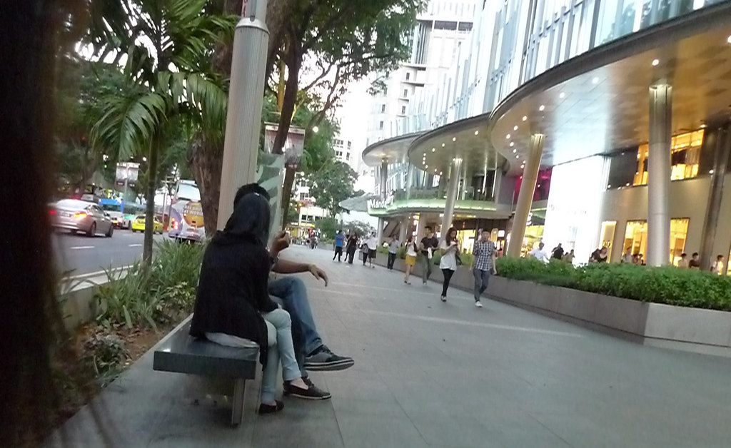 orchard road hanging out