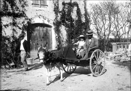 Bébé en charrette Anglaise, Bélesta, 20 cotobre 1897