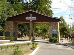 entrance gate Bnanal - São Paulo - Brazil