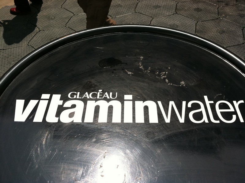 Vitamin Water logo during Movement Detroit 2011
