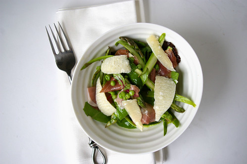 Asparagus and Pea Salad with Mint II