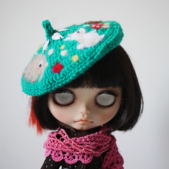 Yeah! Beret for Blythe --- Froest Friends
