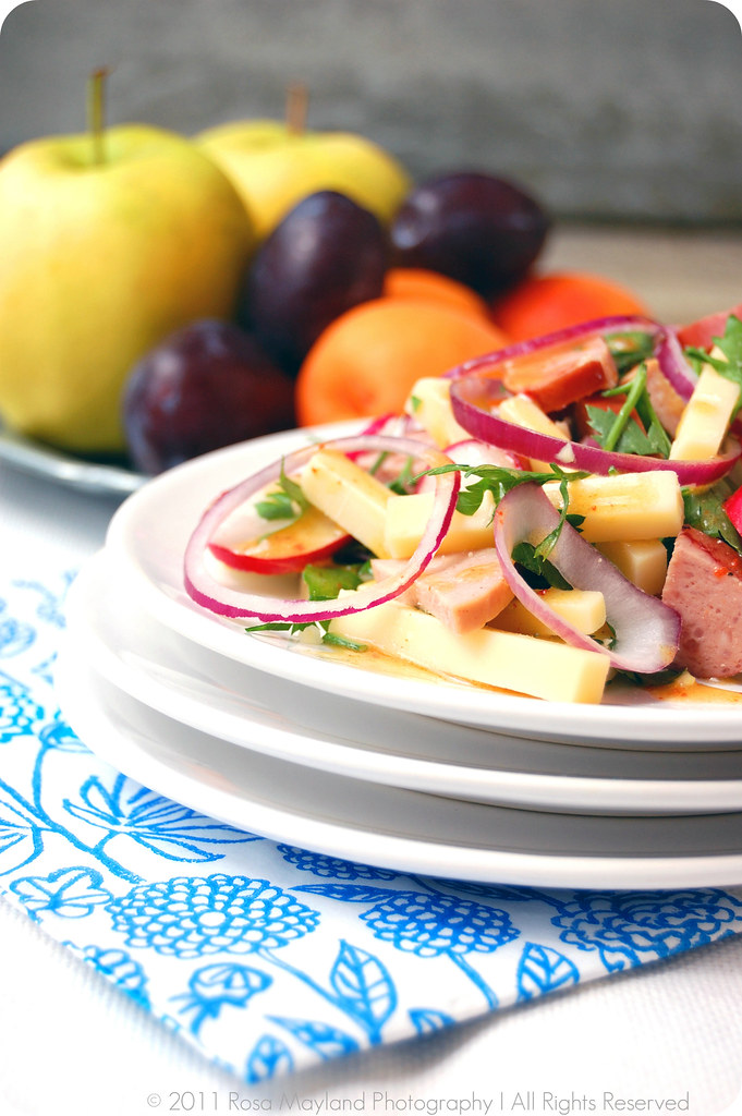 SWISS SAUSAGE SALAD - A GUEST POST