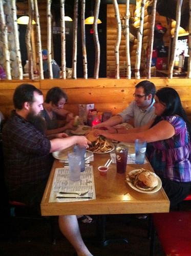 Kookamonga Eating Team, Kooky Canuck, Memphis, Tenn.