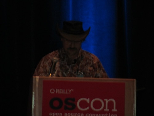 Larry Wall @ OSCON 2011