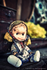 Ethel (Subversive Photography) Tags: yellow doll decay urbandecay abandonded grime derelict urbex danielbarter