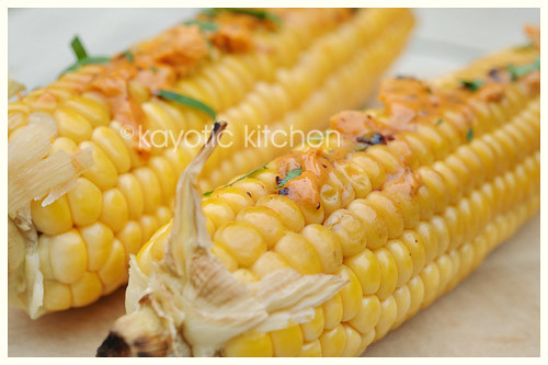 Corn With Ancho Chile Butter