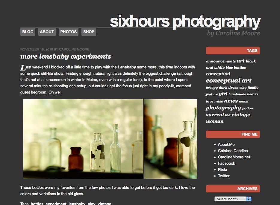 wordpress theme - sixhours