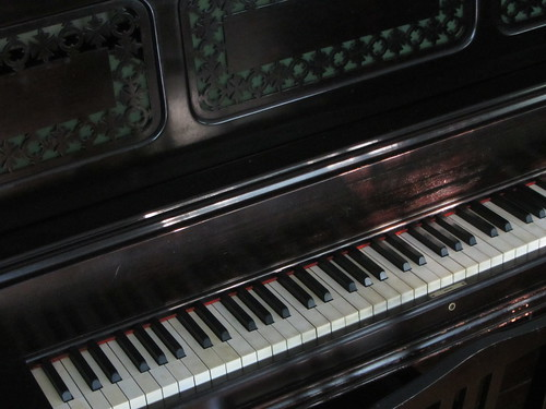 piano in the morning