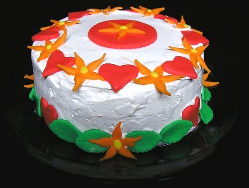 Mom's birthday cake 2