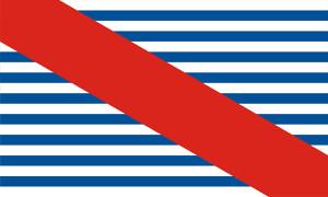 Bandera de Canelones - Uruguay