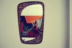 A travs del espejo (tradero) Tags: vintage retro espejo flinstones picapiedra vicenteblanco vintagemirror espejovintage theprollthing