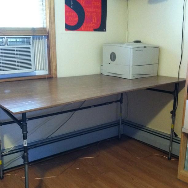 Built a desk