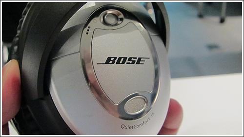 BOSEの新製品「QuietComfort 15」などを体験してきました!