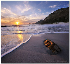 Scarborough Nugget (Panorama Paul) Tags: sunset gold wave scarborough nugget nohdr sigmalenses nikfilters vertorama nikond300 wwwpaulbruinscoza paulbruinsphotography