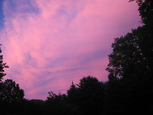 Sunset After The Storm, August 1 2011. by Leenechan