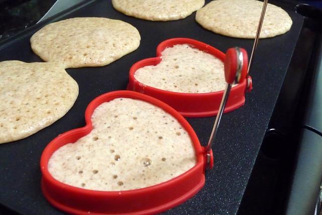 Pancake hearts