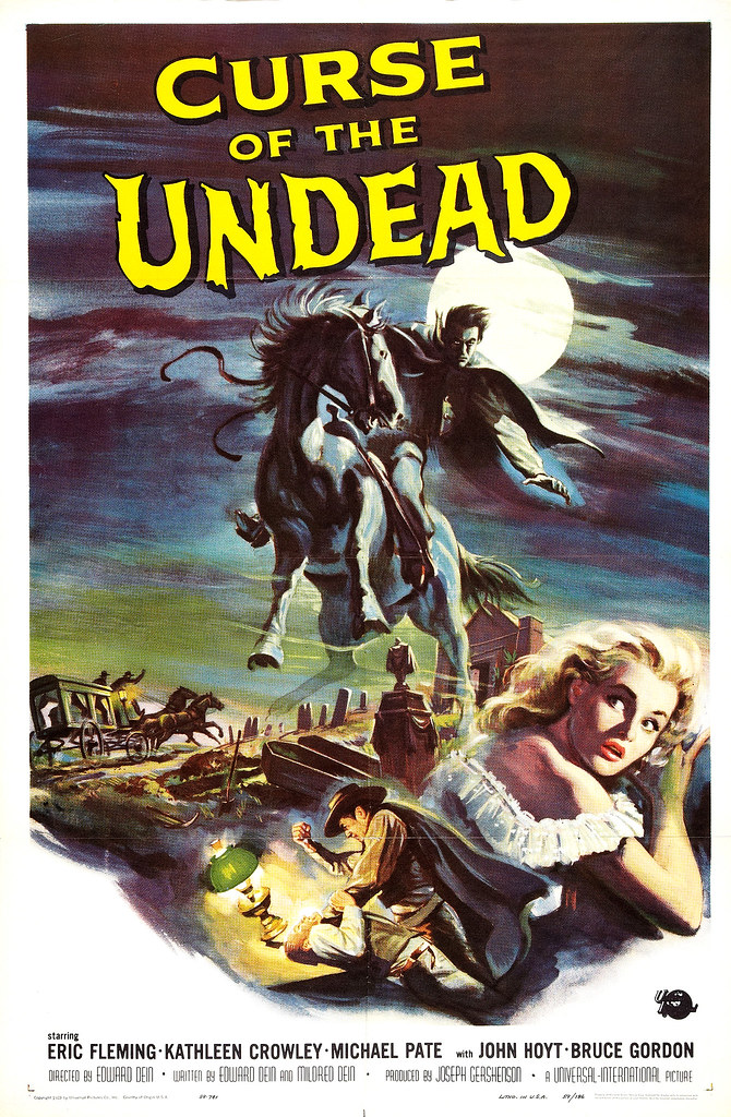 Reynold Brown - Curse of the Undead (Universal International, 1959)
