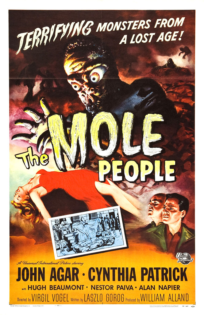 Reynold Brown - The Mole People (Universal International, 1956)